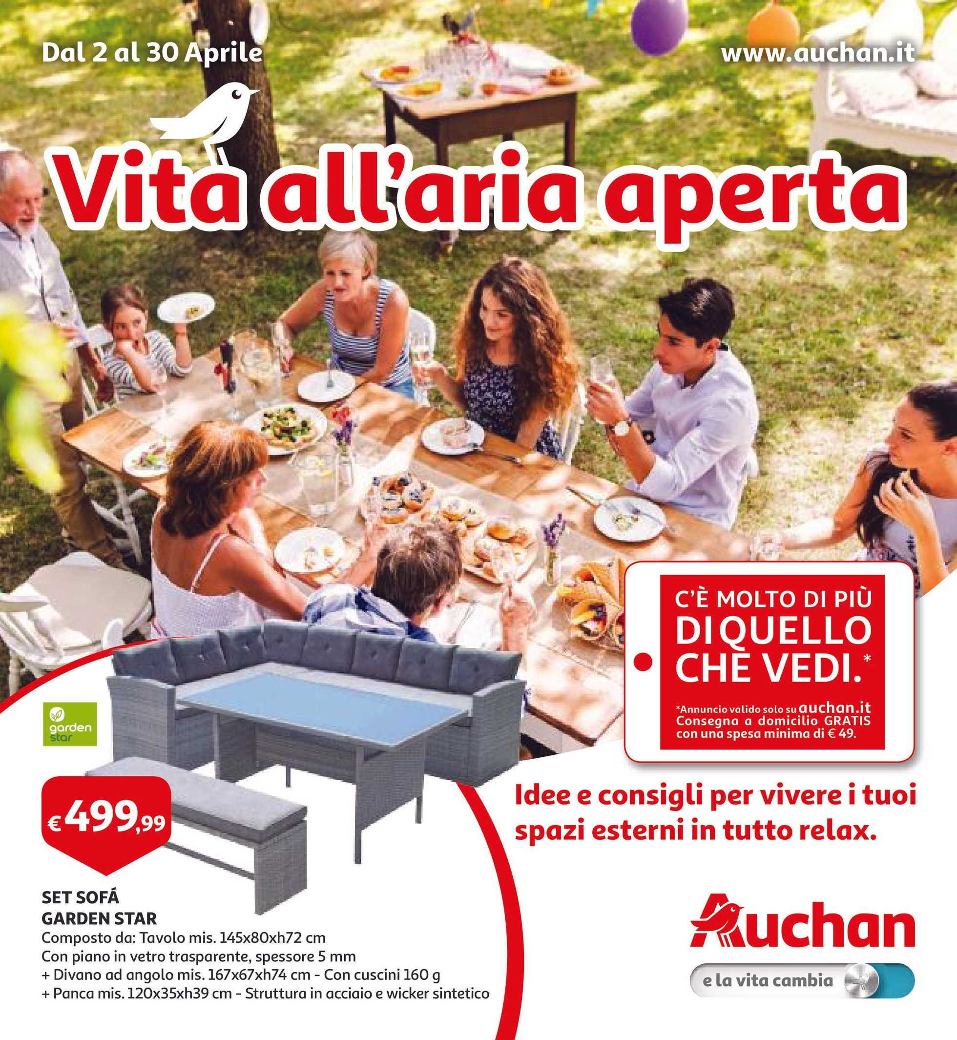 Divano Letto Auchan.Volantino Auchan Le Ultime Offerte It Promotons Com