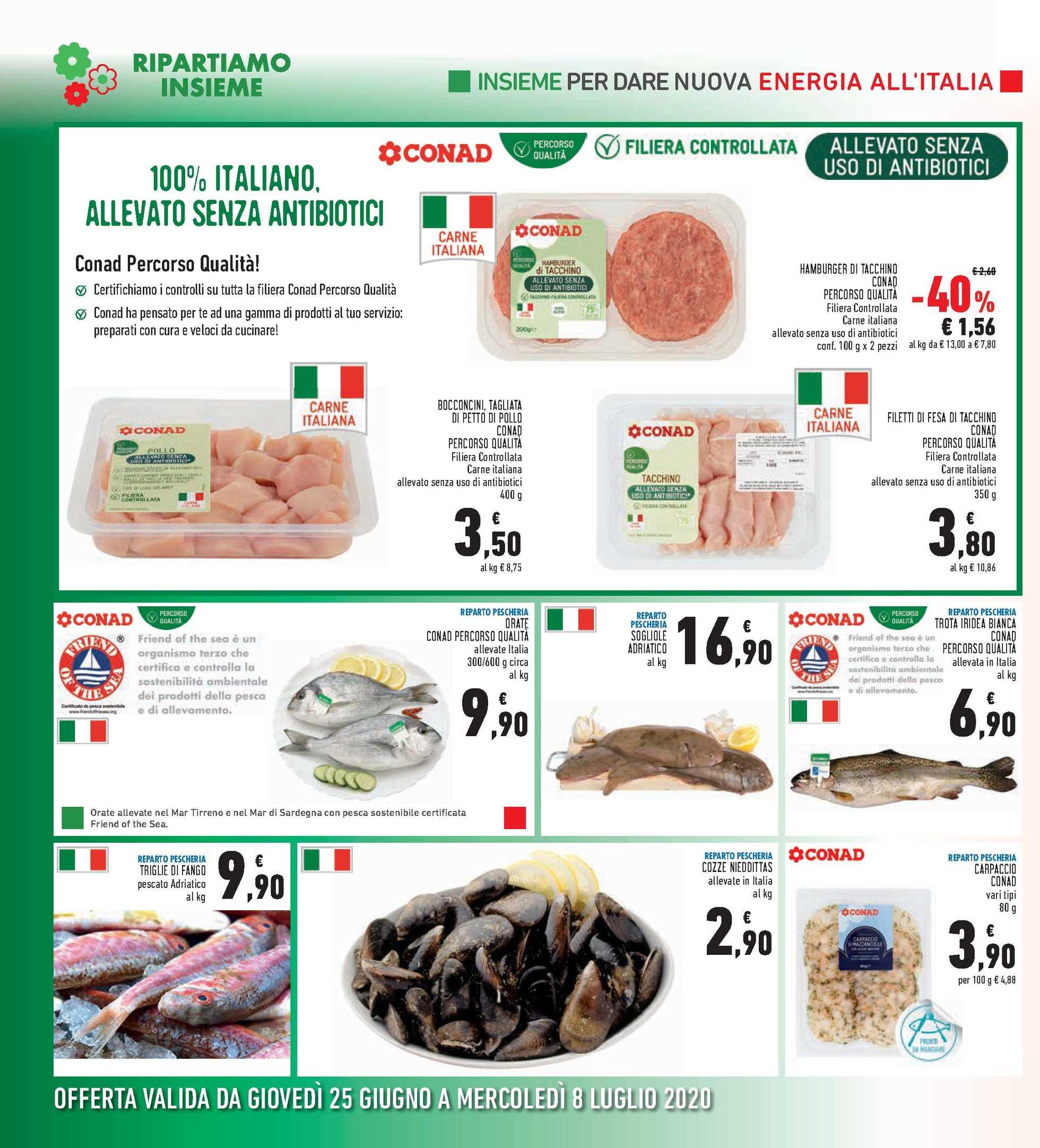 Conad Ipermercato - offerte valide dal 25.06.2020 al 08.07.2020 - pagina 2.