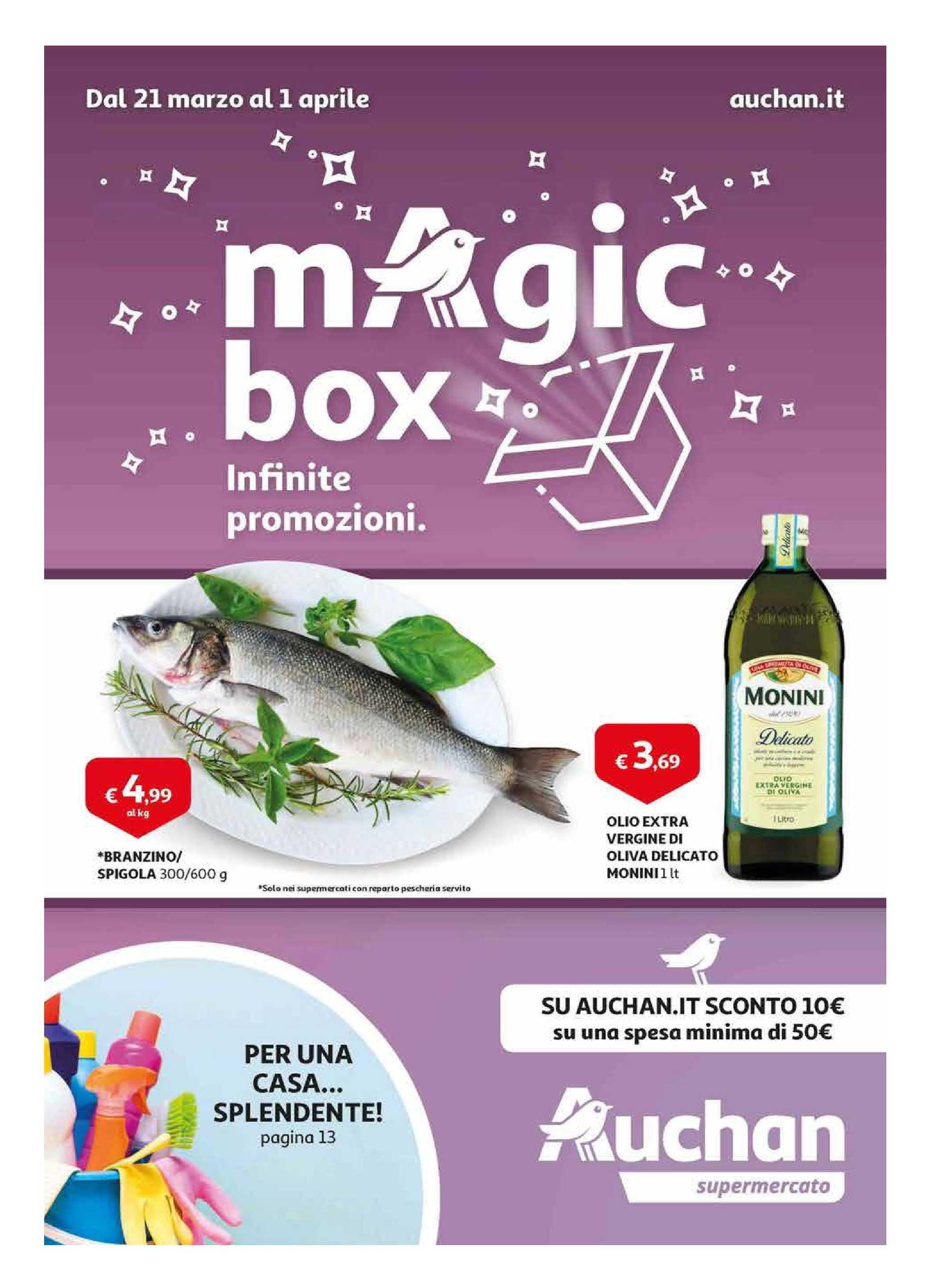 Auchan - offerte valide dal 21.03.2019 al 01.04.2019 - pagina 1.