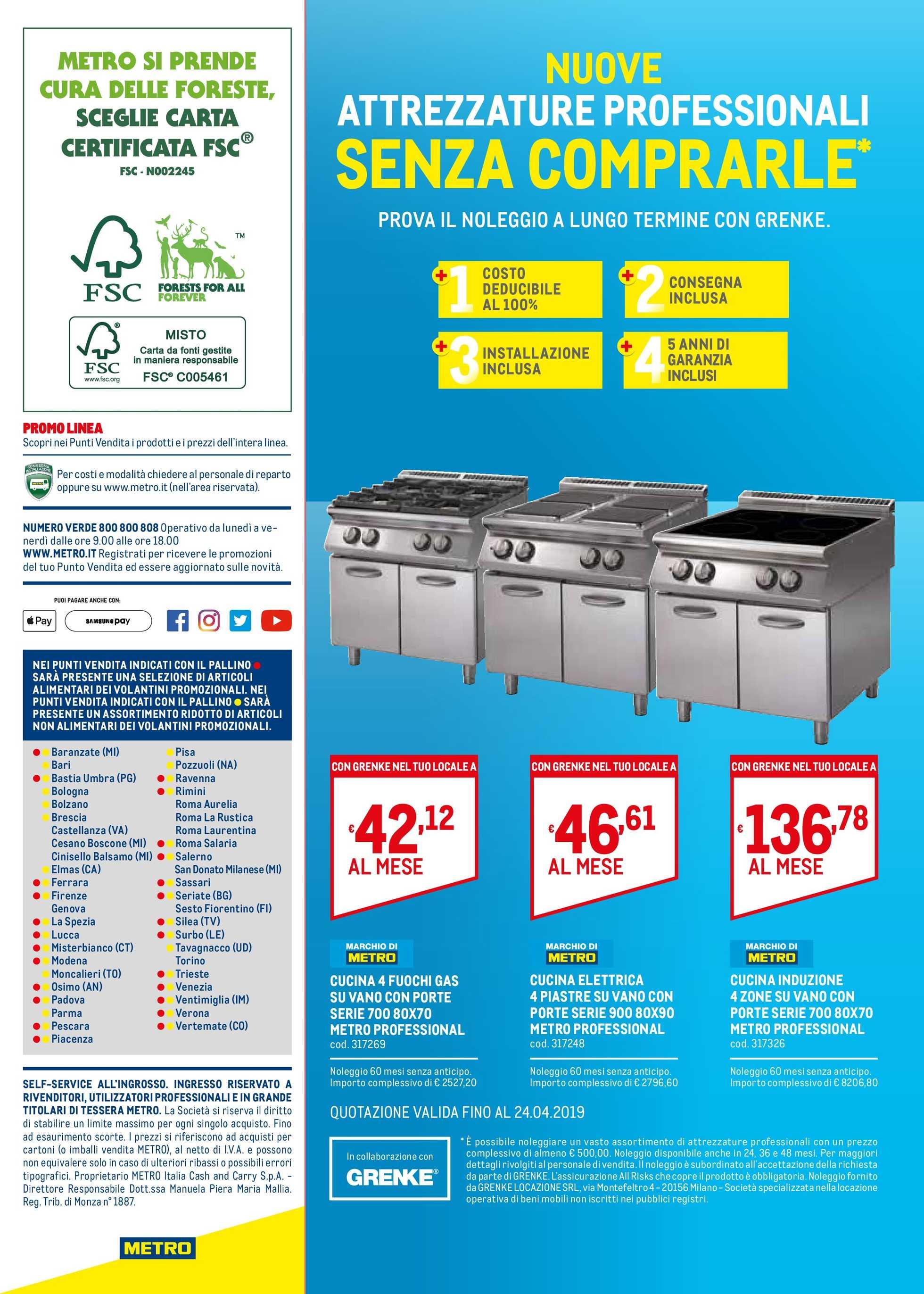 Volantino Metro | Le ultime offerte | it.promotons.com