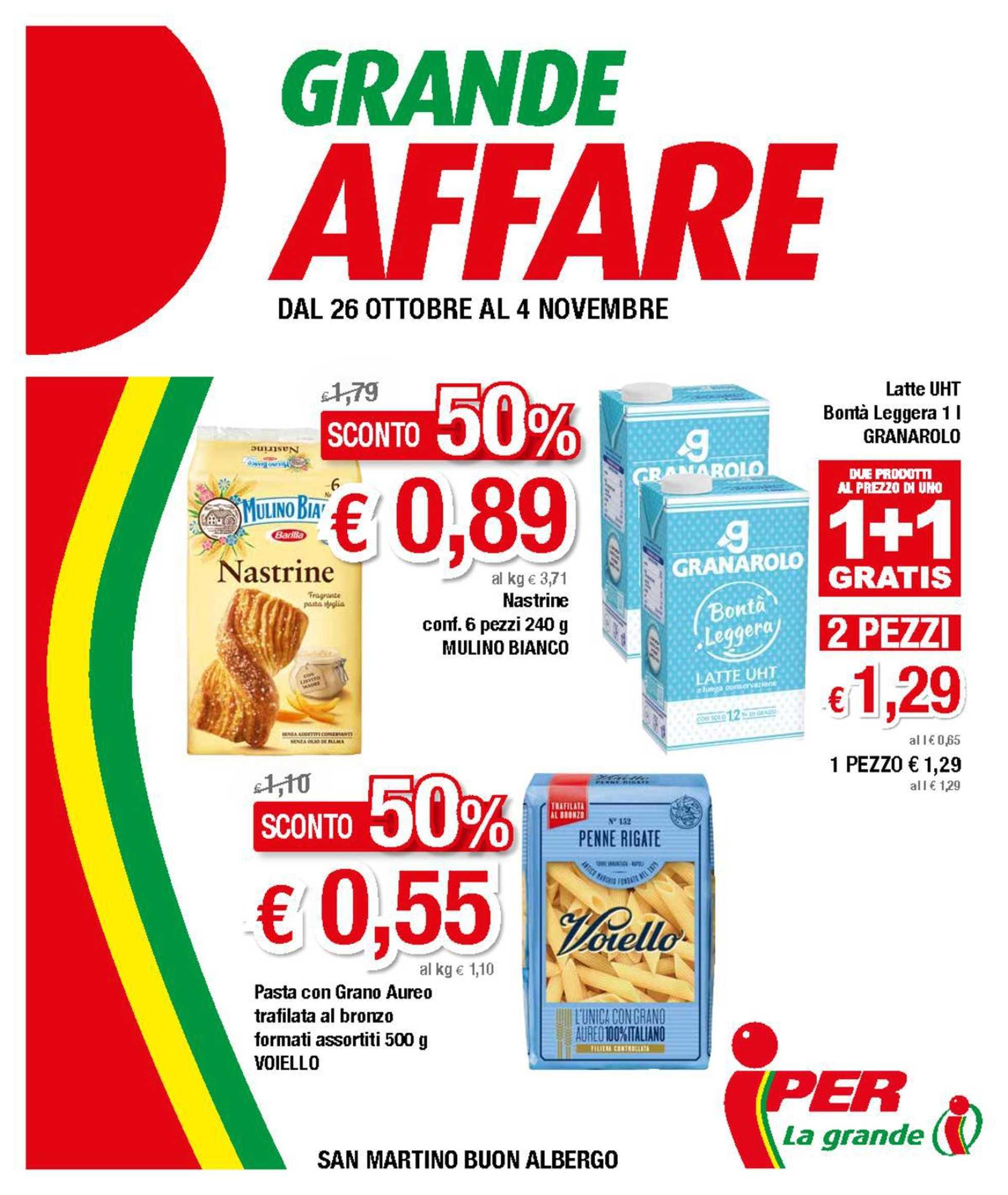 Iper, La Grande i - offerte valide dal 26.10.2020 al 04.11.2020 - pagina 1.