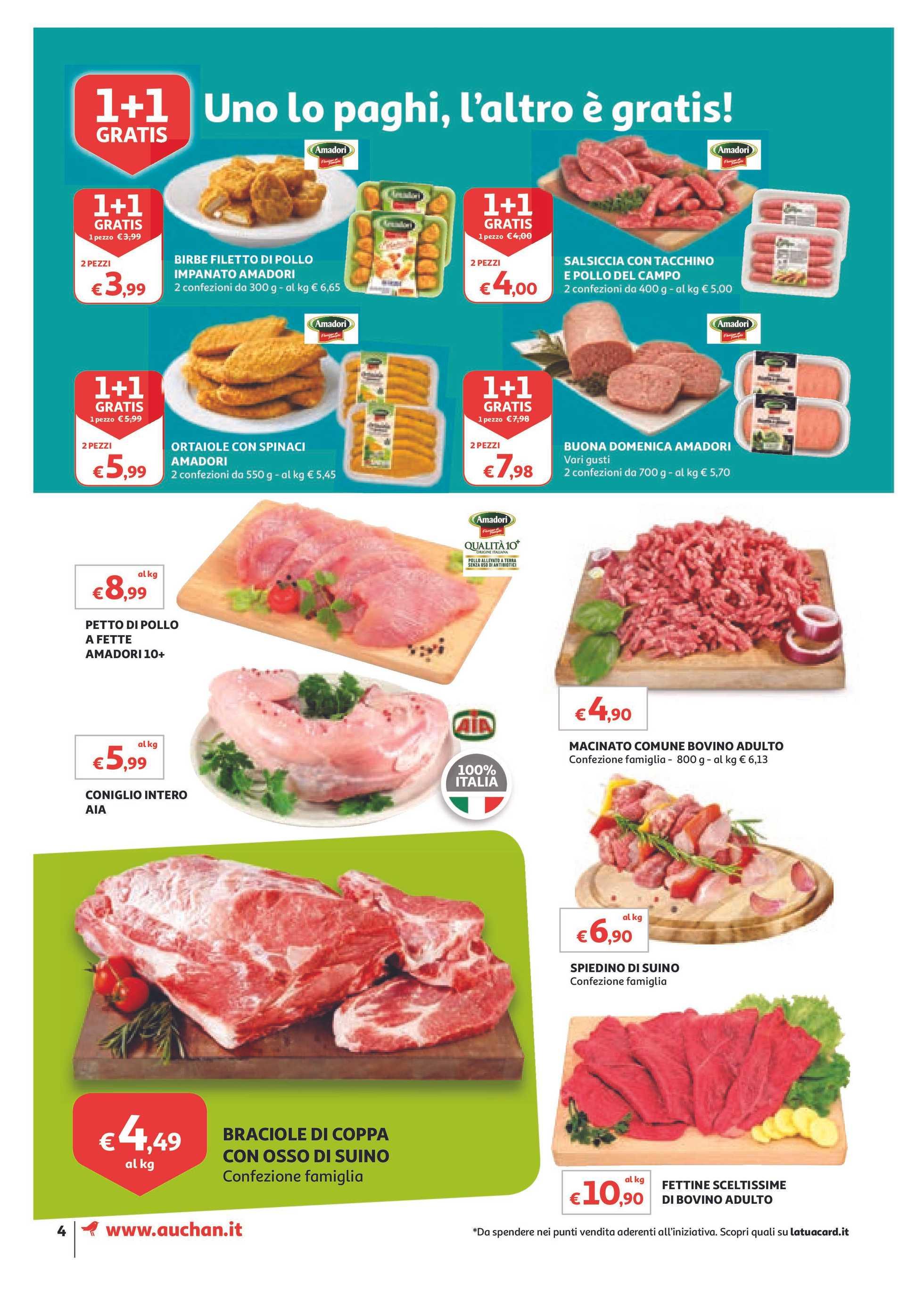 Auchan - offerte valide dal 01.03.2019 al 10.03.2019 - pagina 4.