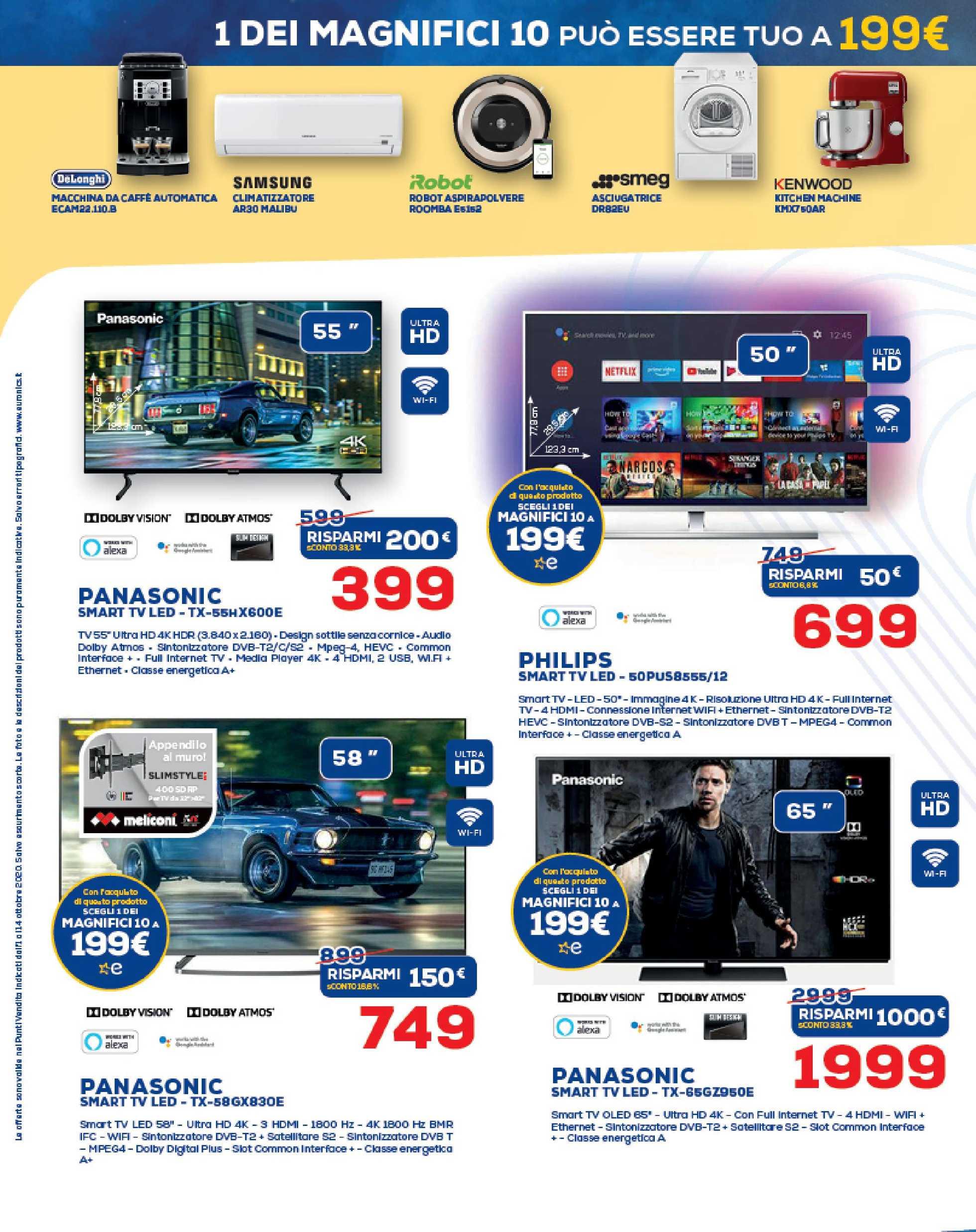 Euronics Bruno - offerte valide dal 01.10.2020 al 14.10.2020 - pagina 4.