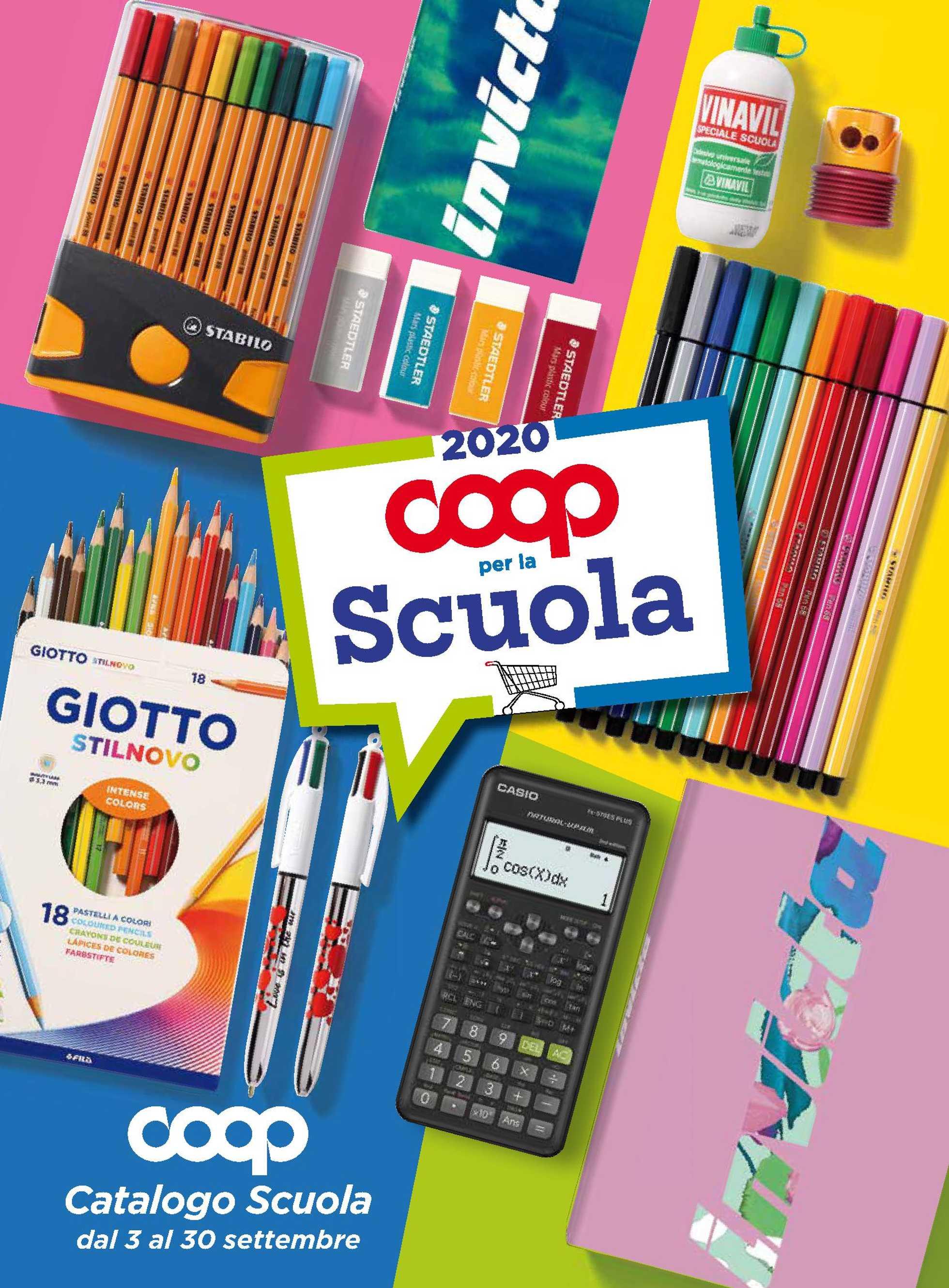 Coop - offerte valide dal 03.09.2020 al 30.09.2020 - pagina 1.
